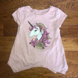 Girls 4t unicorn tee